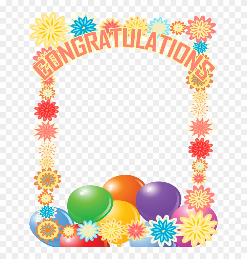 Congratulations Cliparts Borders Free Download Clip Congratulation Frames Free Transparent Png Clipart Images Download