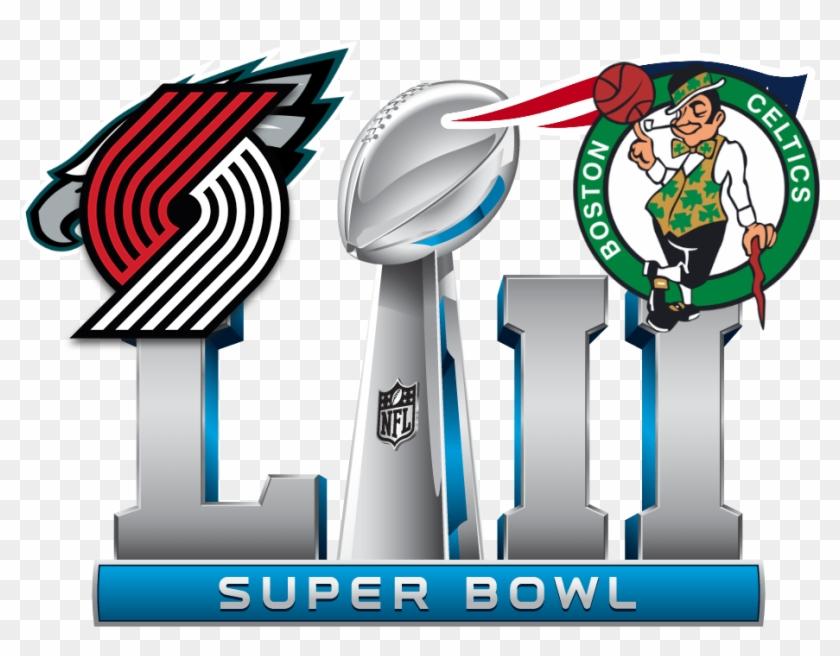 2017 18 Regular Season Record Portland Trail Blazers - 2018 Super Bowl Logo #499776