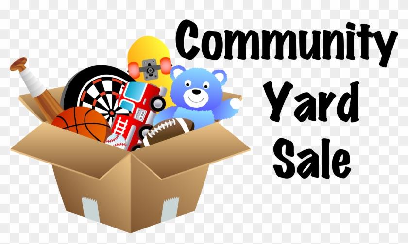 Community Yard Sale Signs Clipart - Community Yard Sale Flyer Template #499787