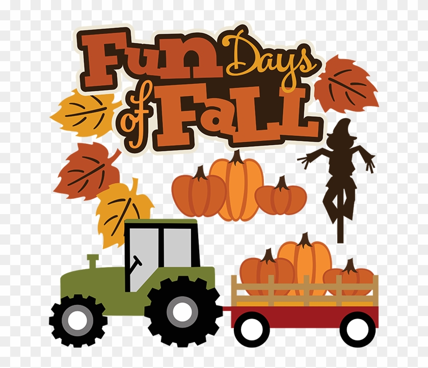 Fall Clipart Hayride - Fall Fun Day Clip Art #499795