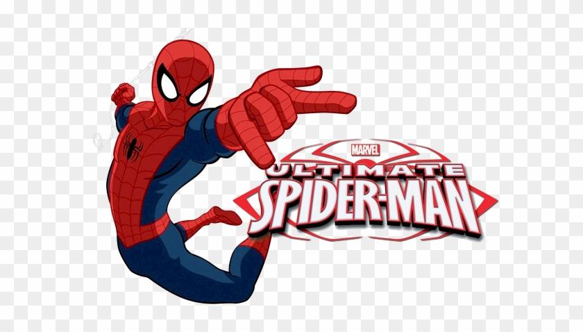 Spider-man Clipart Spiderman Logo - Draw The Ultimate Spider Man #499963