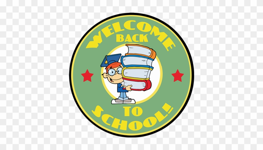Cowboy - Clip Art Welcome Back To School #500001