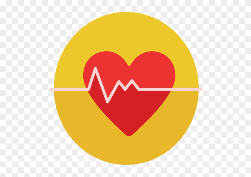 Heart Rate Icon Circle #500462