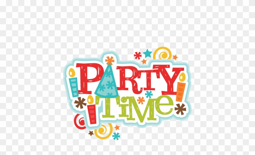 160428, Freebie Of The Day Party Time Title - Party Time Title #85657
