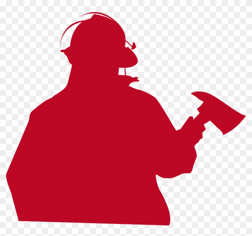 Who We Are - Fireman Silhouette Png #85675