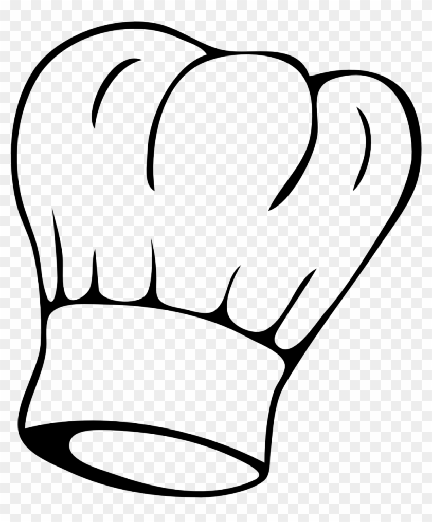 Creche De Noel - Chef Hat Clipart Black And White #85685