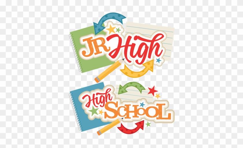 Jr High And High School Titles - Junior High Clip Art #85753