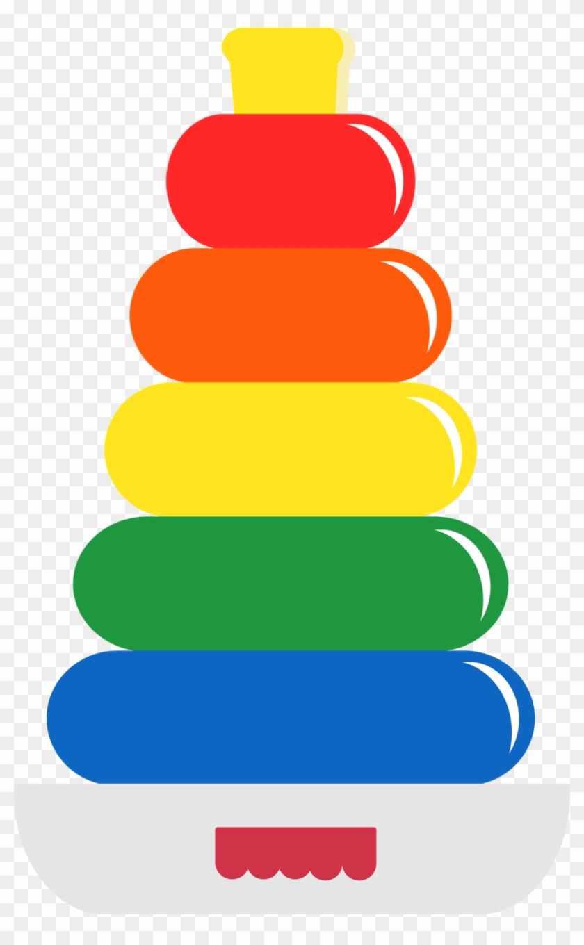 Rainbow Rings , $0 - Art And Craft Baby Toys #85764