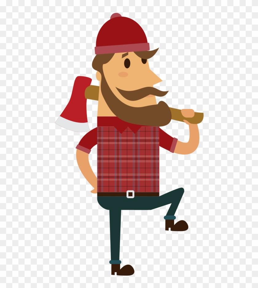 Onlinelabels Clip Art - Lumberjack Png #85812
