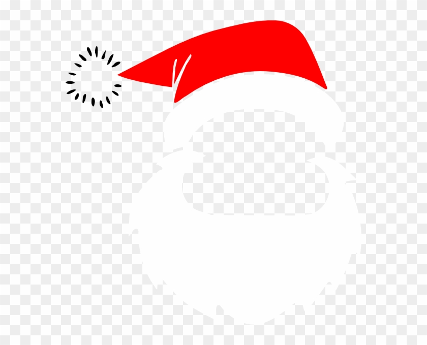 Santa Beard Clipart - Santa Claus Beard Clipart #85877