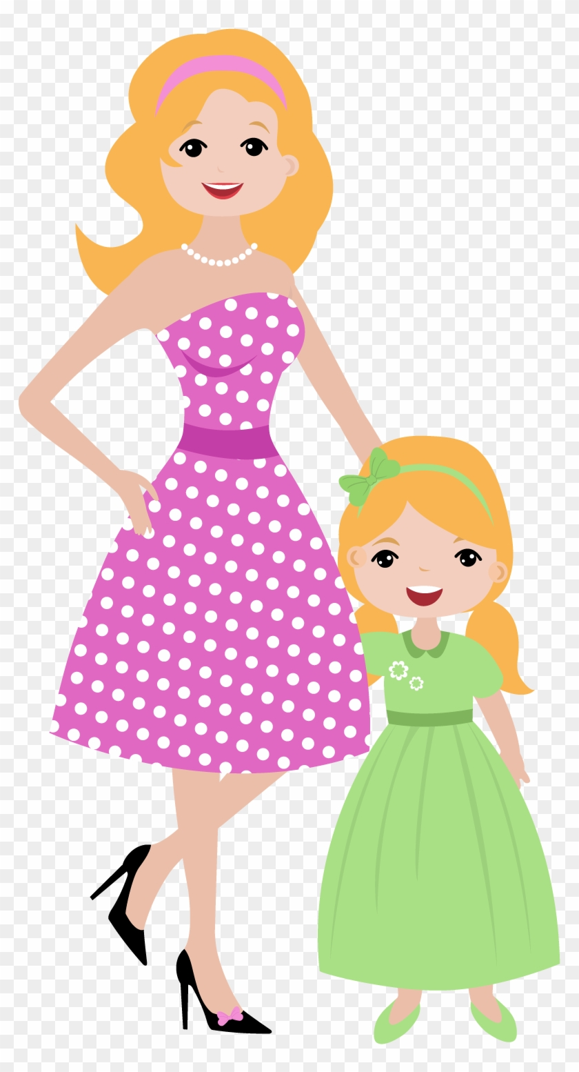 Idkxurp6z7oon - Mother And Daughter Clipart #85883
