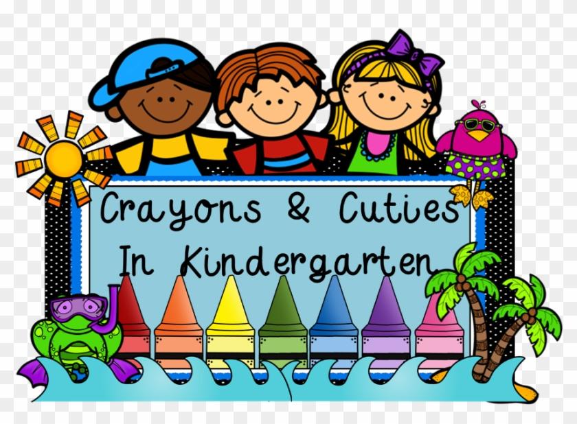 Crayons Cuties In Kindergarten - Kindergarten #85890