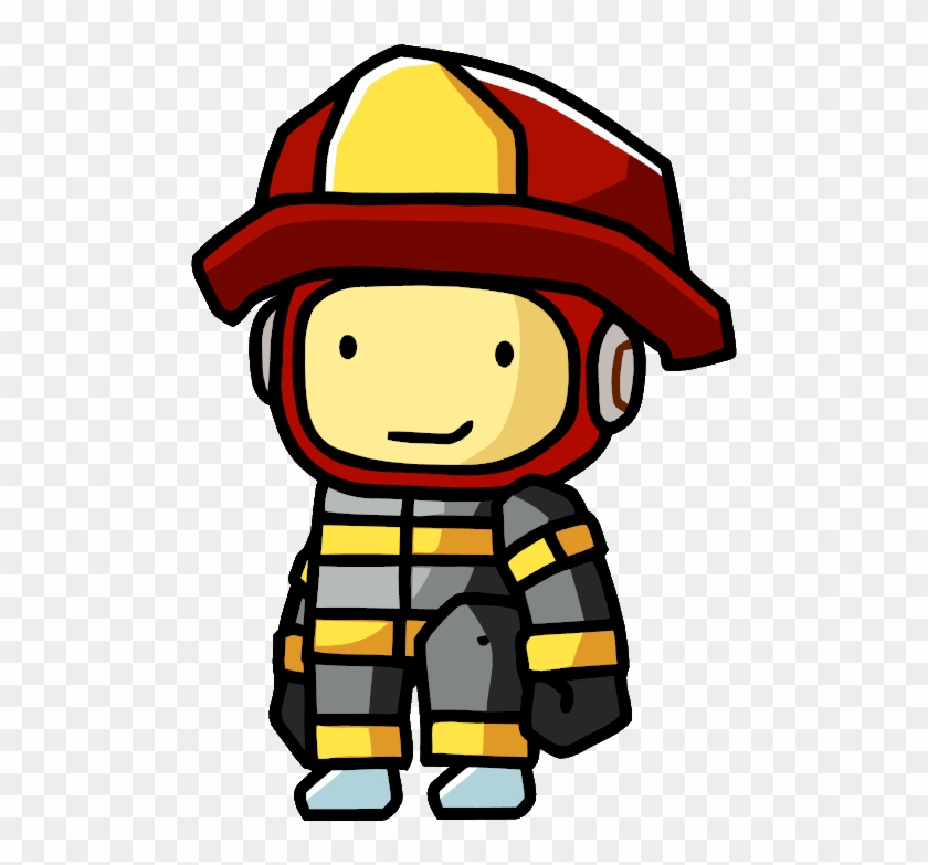 Picture Of A Fireman - Fireman Png #85944