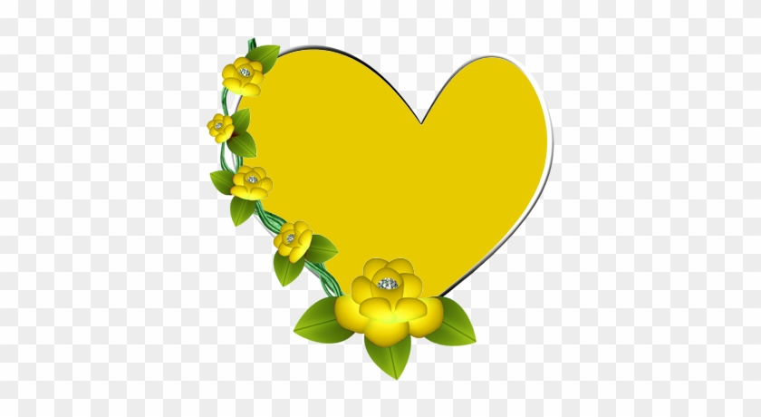 It's All About Hearts ♡ - Yellow Hearts Clip Art #85954