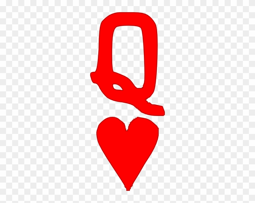 Queen Of Hearts Clip Art - Queen Of Hearts Clipart #85960