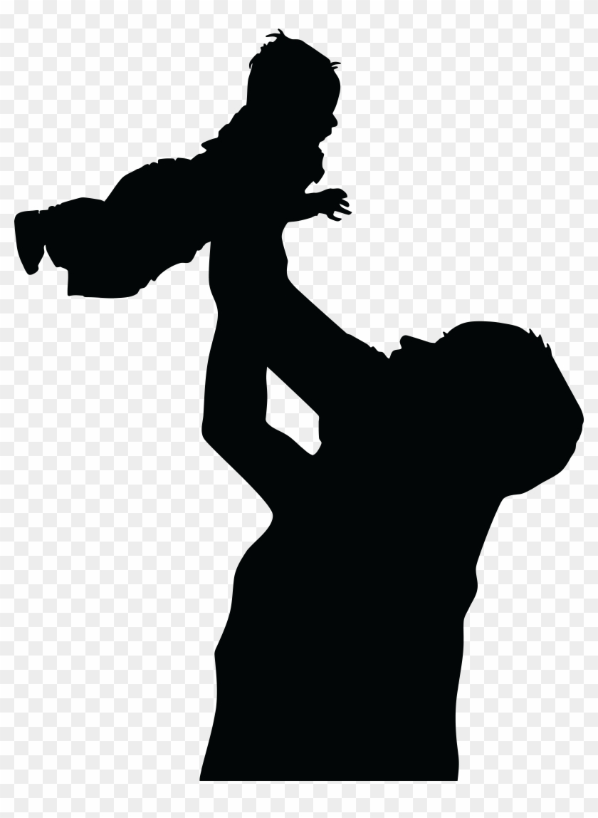 - Ai, - Eps, - Svg, - Free Clipart Of A Silhouetted - Pre-school Parenting Secrets: Talking With The Sky #86009