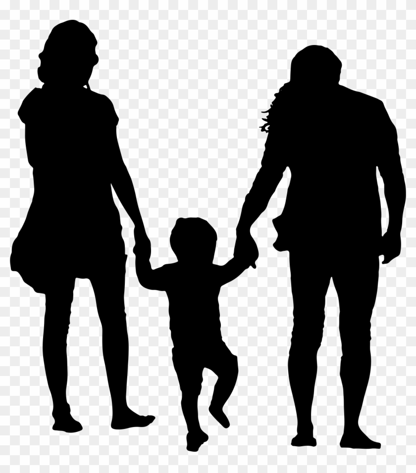 Clipart - Family Silhouette Png #86011