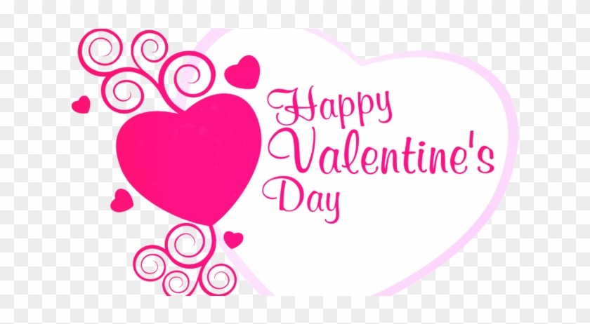 See Here Valentines Day Clipart Transparent Background - Happy Valentine's Day 2018 #86014