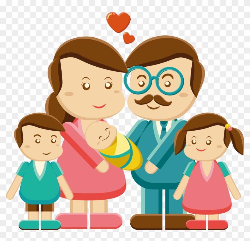 Father Family Mother Clip Art - Miembro De La Familia #86022
