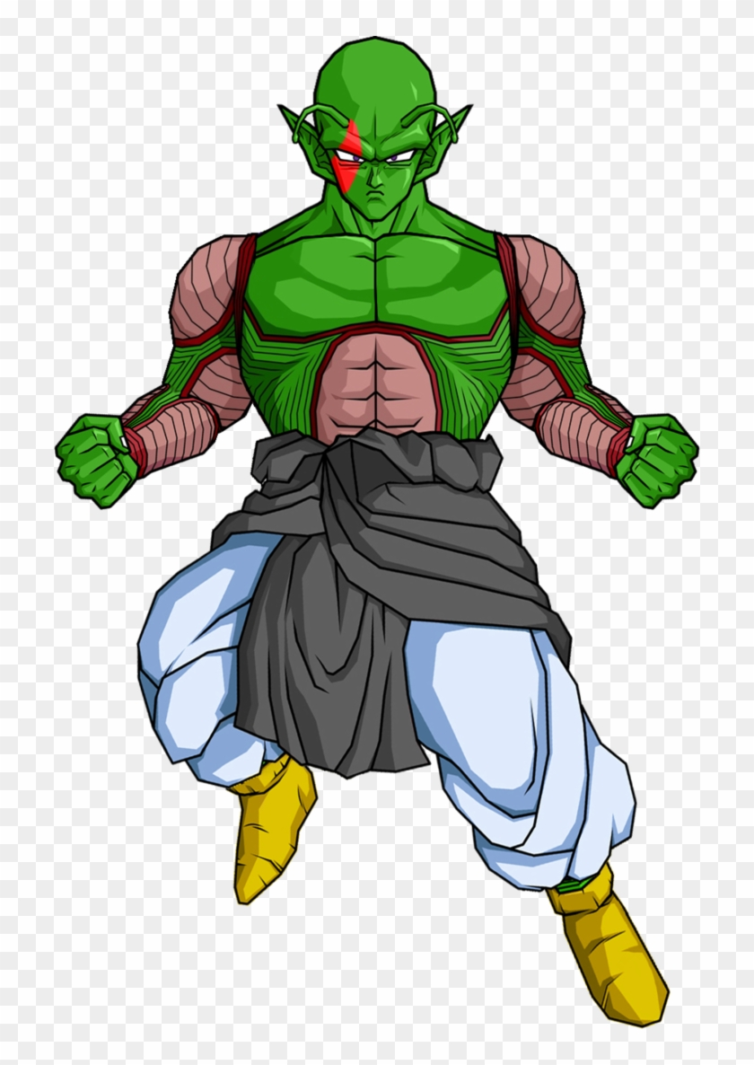 Red Namekian S Father Ad By Db Own Universe Arts-d48r1fu - Dragon Ball Z Piccolo #86045