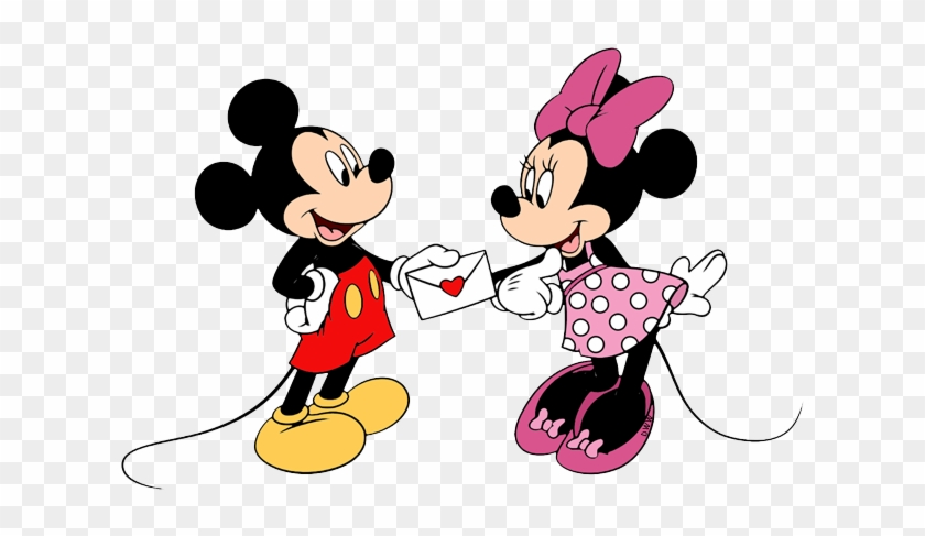 Disney Valentine Mickey Minnie Valentines Day Free Transparent