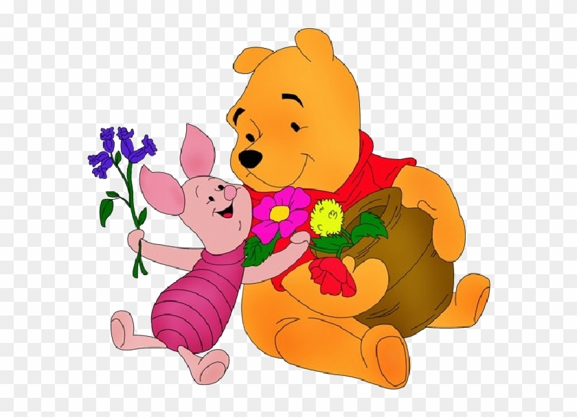 Winnie The Pooh Valentine Clip Art Images - Winnie The Pooh Piglet Animations #86105