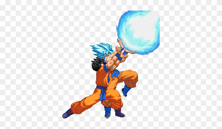 Father Son Kamehameha Sprite By Spartan-a21 - Dragon Ball Sprite Kamehameha #86116