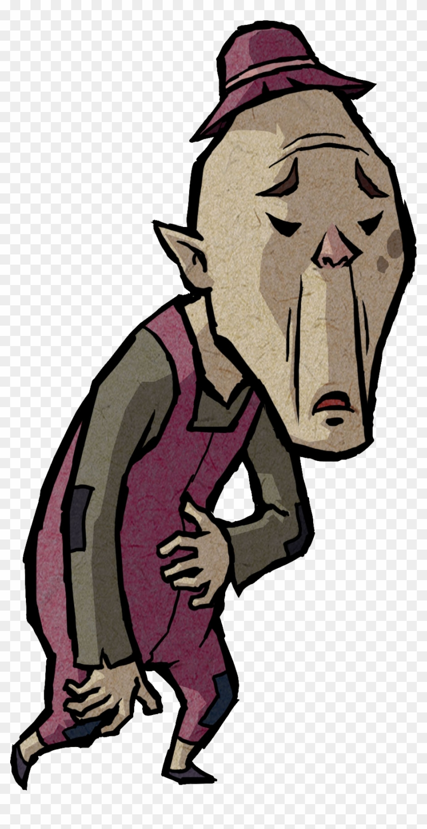 Legend Of Zelda Wind Waker Old Man #86119
