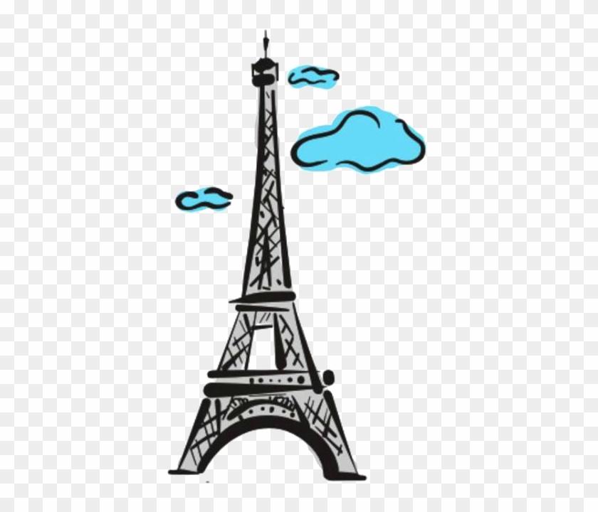 Eiffel Tower Of Paris Png By Nenacaitlin - Eiffel Tower Clip Art #86133