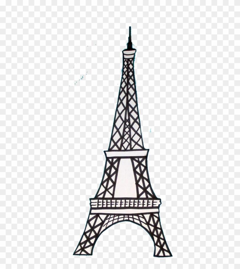Eiffel Tower By Destiny-carter - France Eiffel Tower Drawing #86134