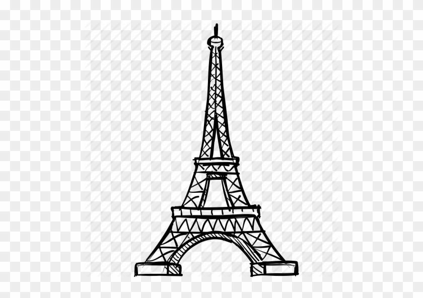 Eiffel, France, French, Landmark, Paris, Romance, Tower - Paris Icon Transparent #86135