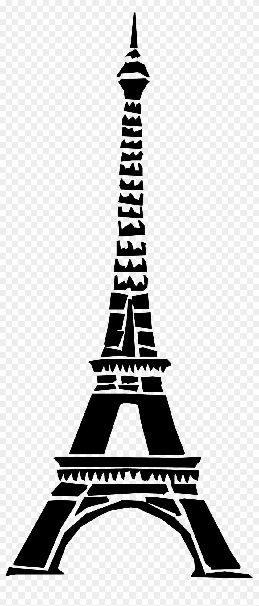 Eiffel Tower Clip Art Png #86148