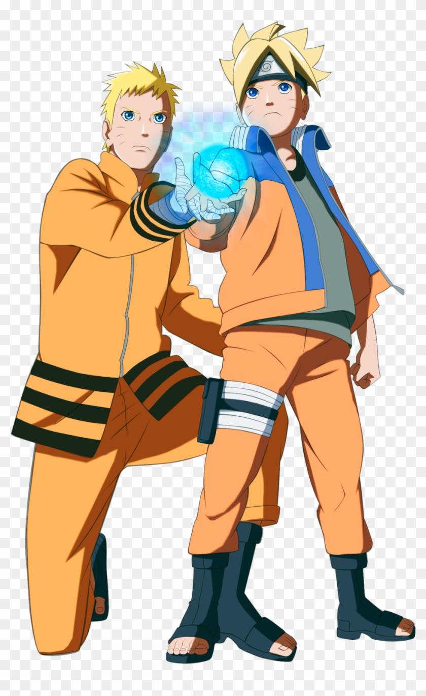 Father And Son Line Art Isn't Mine By Gevdano - Boruto Padre De Naruto #86160