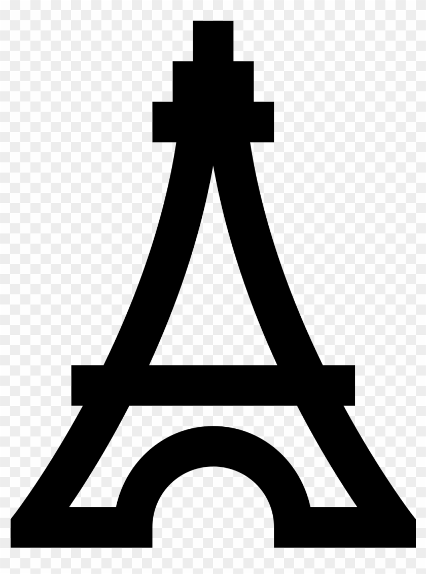 New 2018 Hd Images Eiffel Tower Clip Art Black And - Torre Eiffel Svg #86190