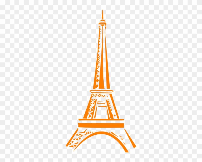 Pink Eiffel Tower Clip Art #86202