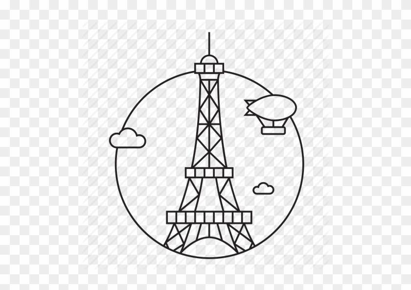 Capital, City, Eiffel Tower, Europe, France, Monument, - Paris Icon #86220