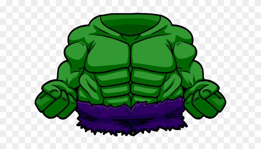 Hulk Clipart Body - Hulk Body Png #86229