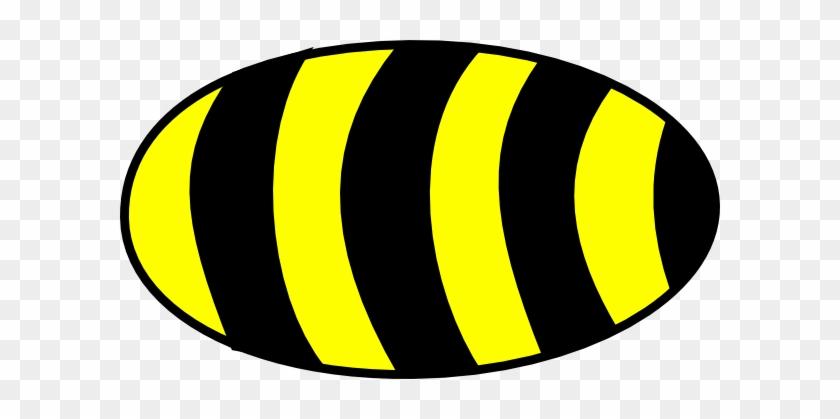 Bee Body Clip Art - Bee Body Clipart #86257