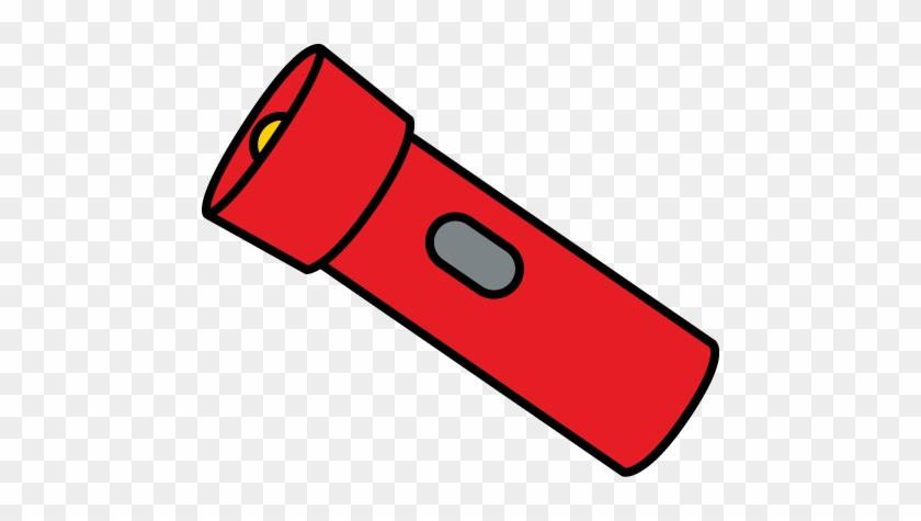 Flashlight Clip Art From Mycutegraphics - Flashlight Clipart #86288