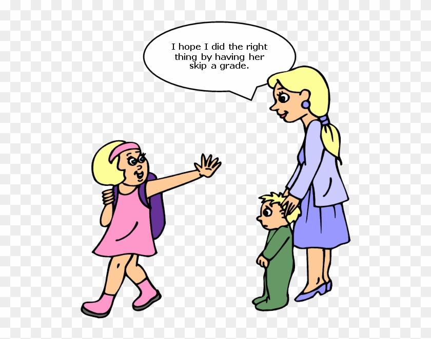 Clip Art Mom - Social Acceptance #86302