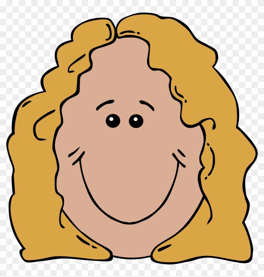 Cartoon - Mother Face Cartoon #86333