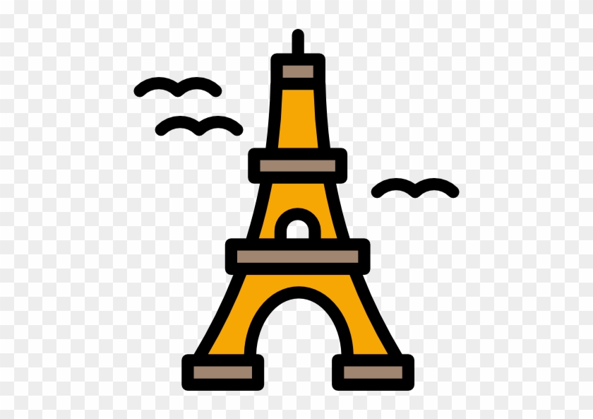 Eiffel Tower Free Icon - Eiffel Tower Icon Png #86371
