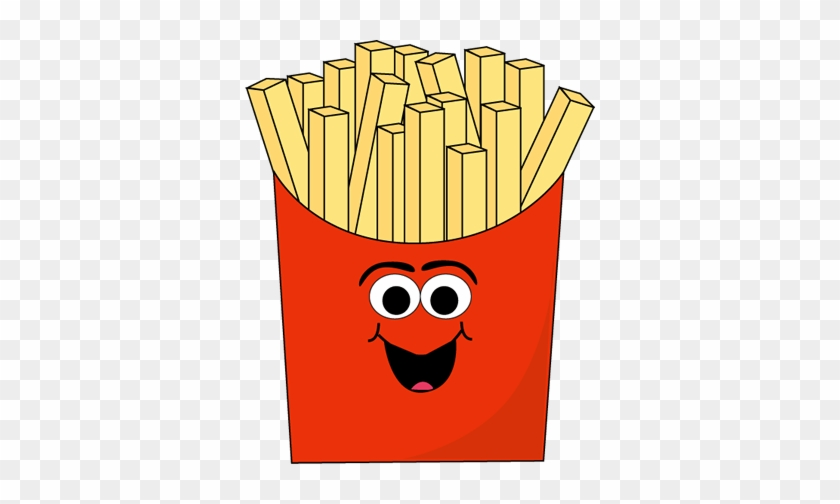 Elegant Cartoon French Pictures Cartoon French Fry - French Fries With Face #86376