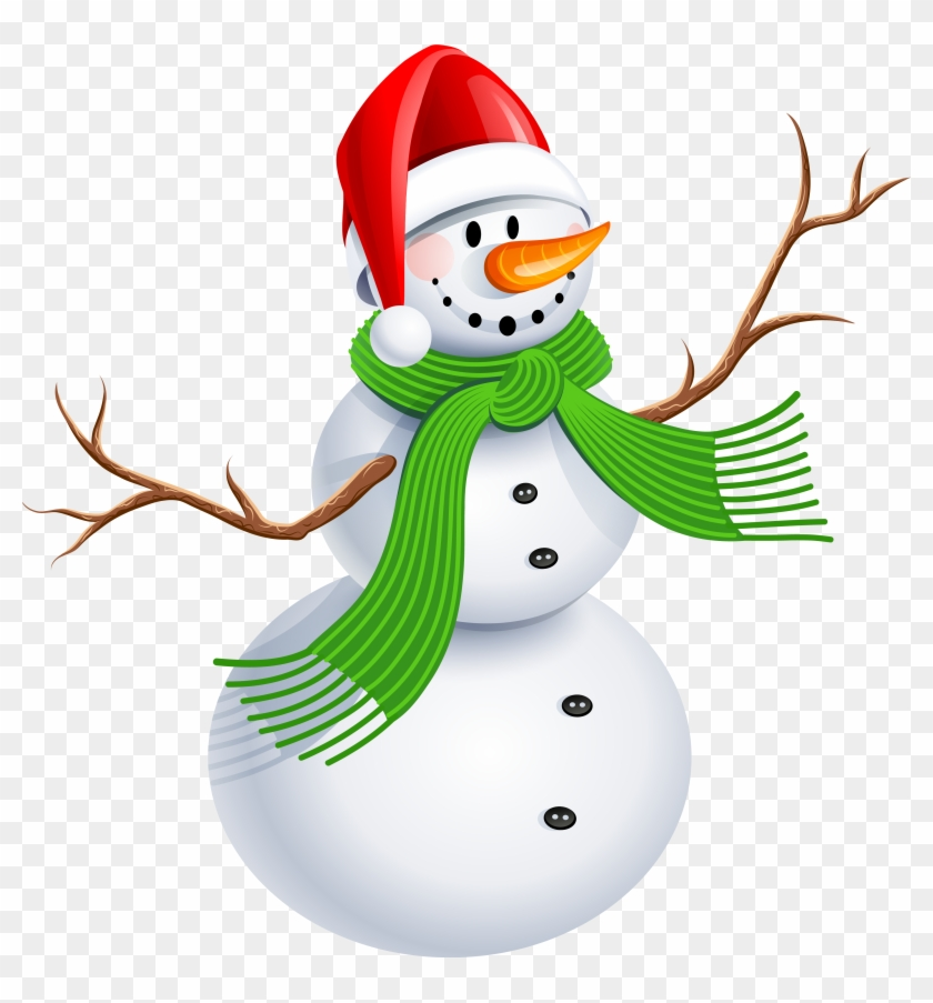 Elegant Snowman Clipart - Merry Christmas Great Niece And Nephews #86436