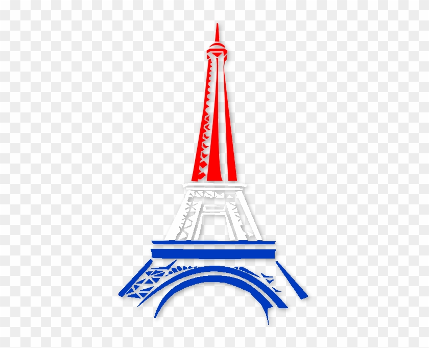 Think Of A Familiar French Expression In Three Words, - Eiffel Tower Clipart #86467