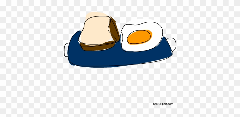 Breakfast In A Tray, Free Png Clip Art - Clip Art #86495
