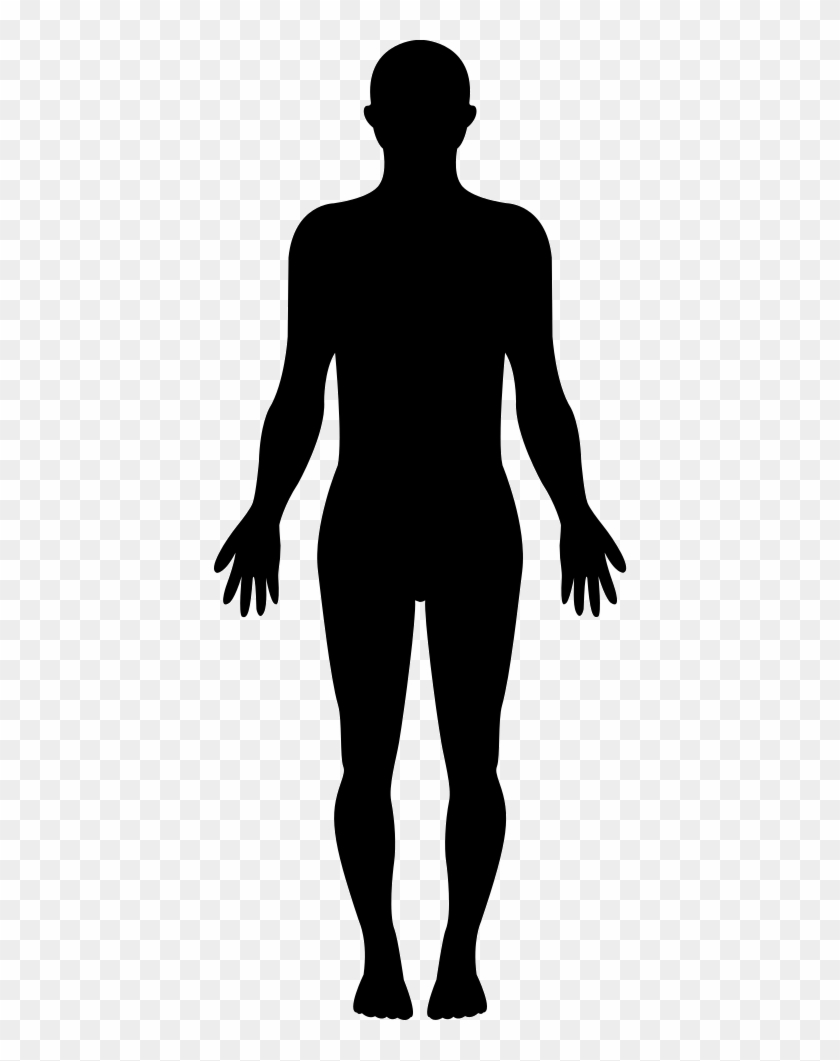 Standing Human Body Silhouette Svg Png Icon Free Download - Silhouette Of A Girl Standing #86505