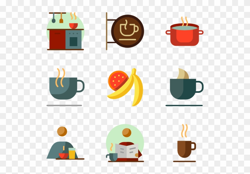 Coffee And Breakfast - Breakfast Icon Color #86507