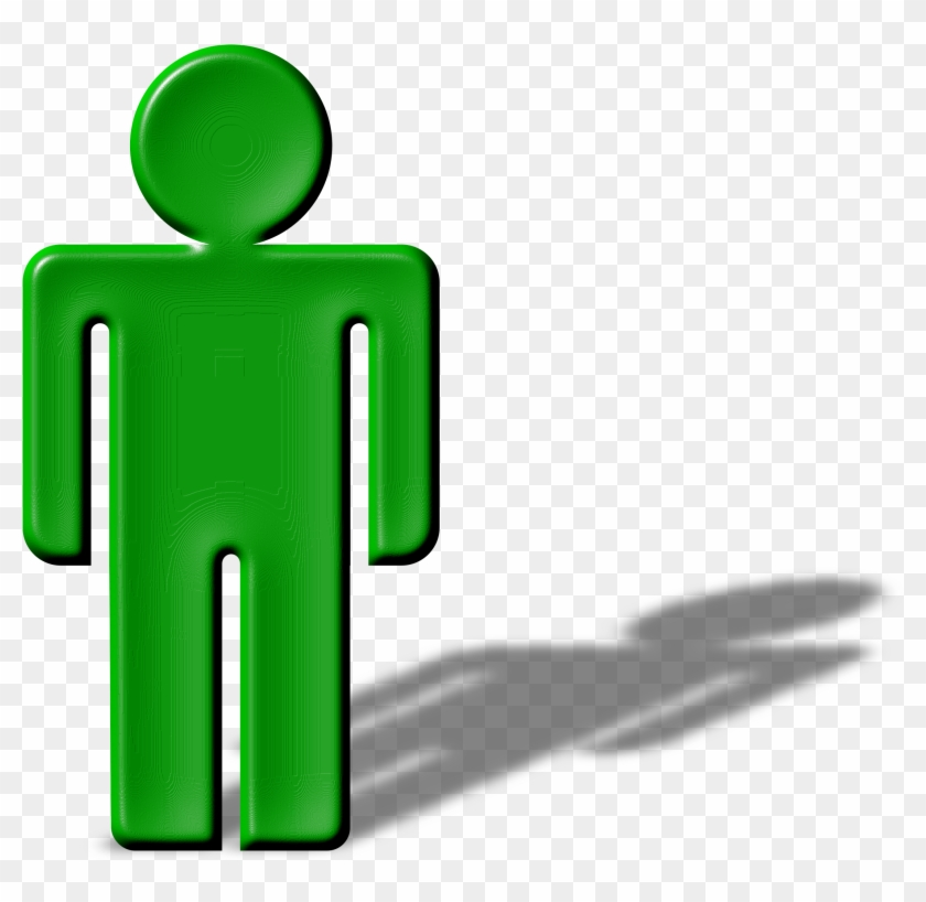 Clipart Shadow Man - Shadow Clipart Png #86596