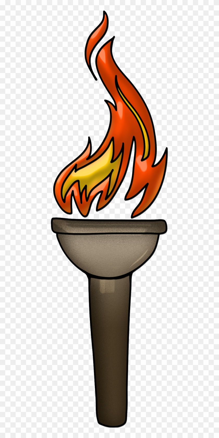 Wall Torch Sconce - Torch Clipart #86639